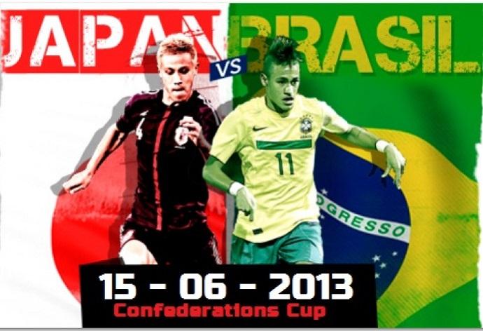 ブラジル対日本15-6-2013 , Brazil vs Japan 15-6-2013