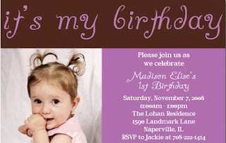 pretty birthday invitations