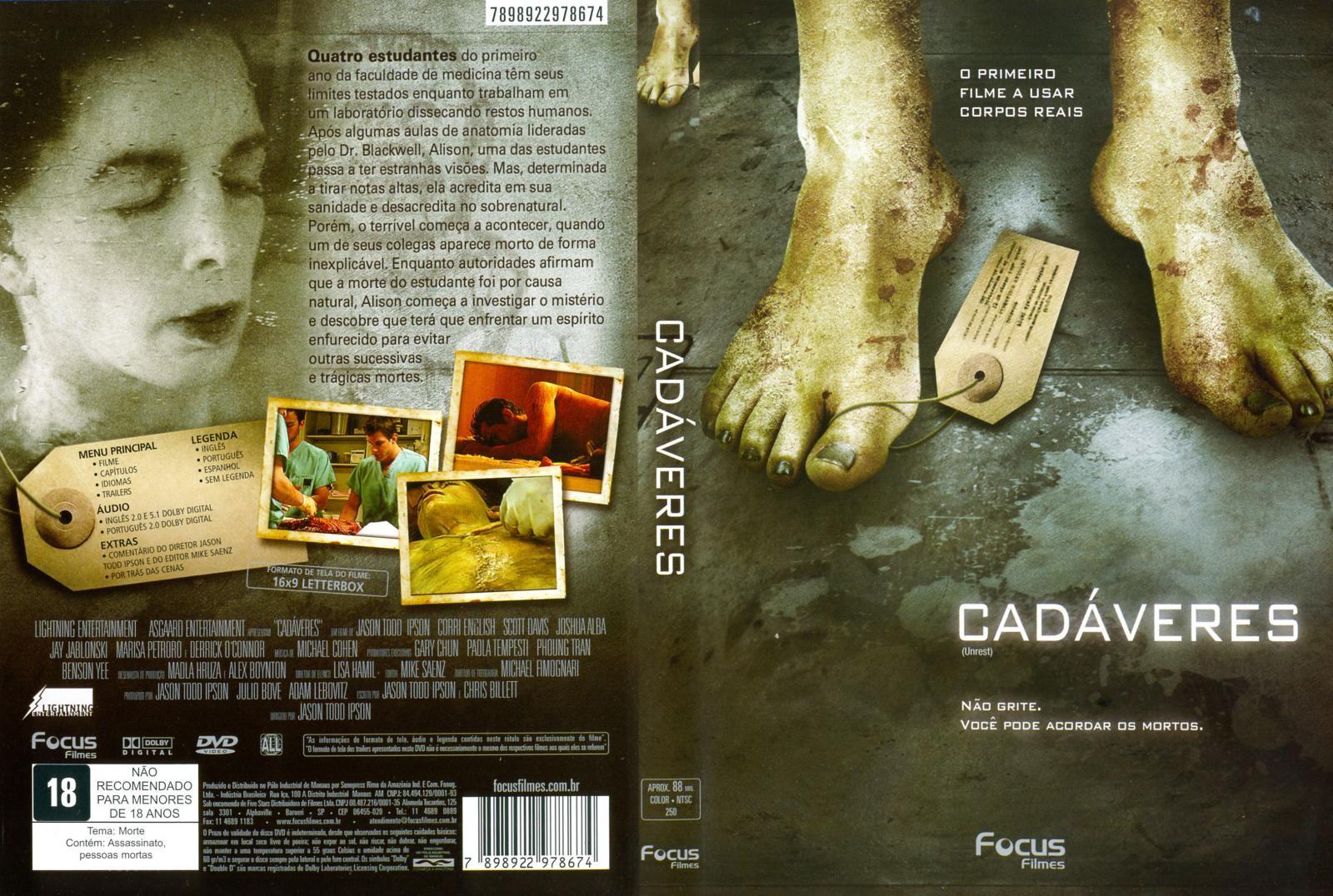 Cadaveres DVD Capa