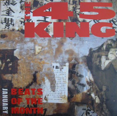 45 King – Beats Of The Month January (2000, 192) VLS