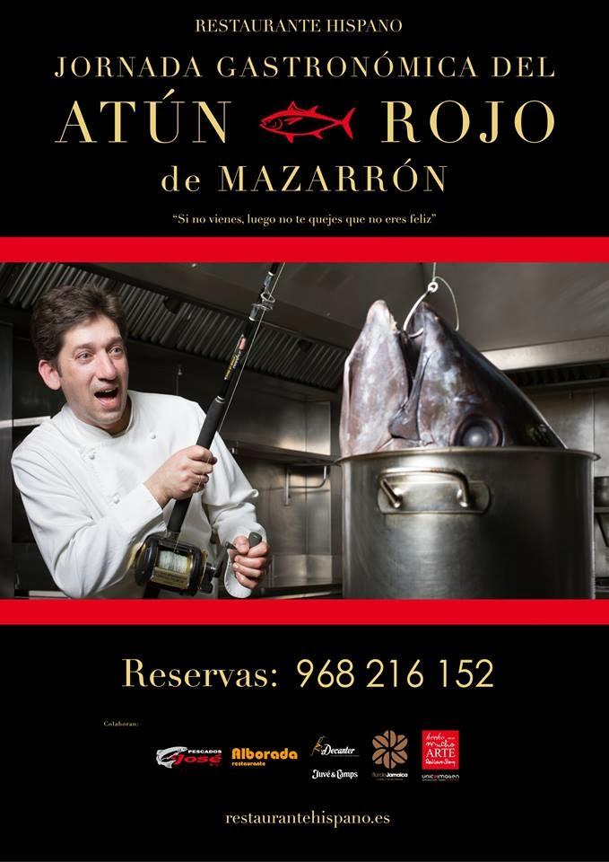 Jornada Gastronómica del Atún Rojo de Mazarrón en el Restaurante Hispano
