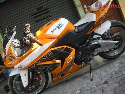 Foto Modifikasi Motor Kawasaki Ninja