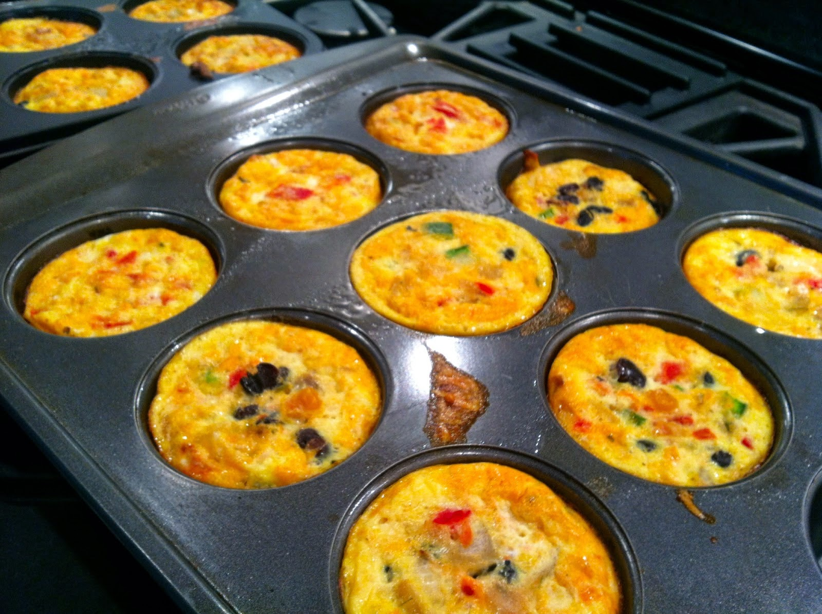 Tex Mex Mini Quiches Recipe