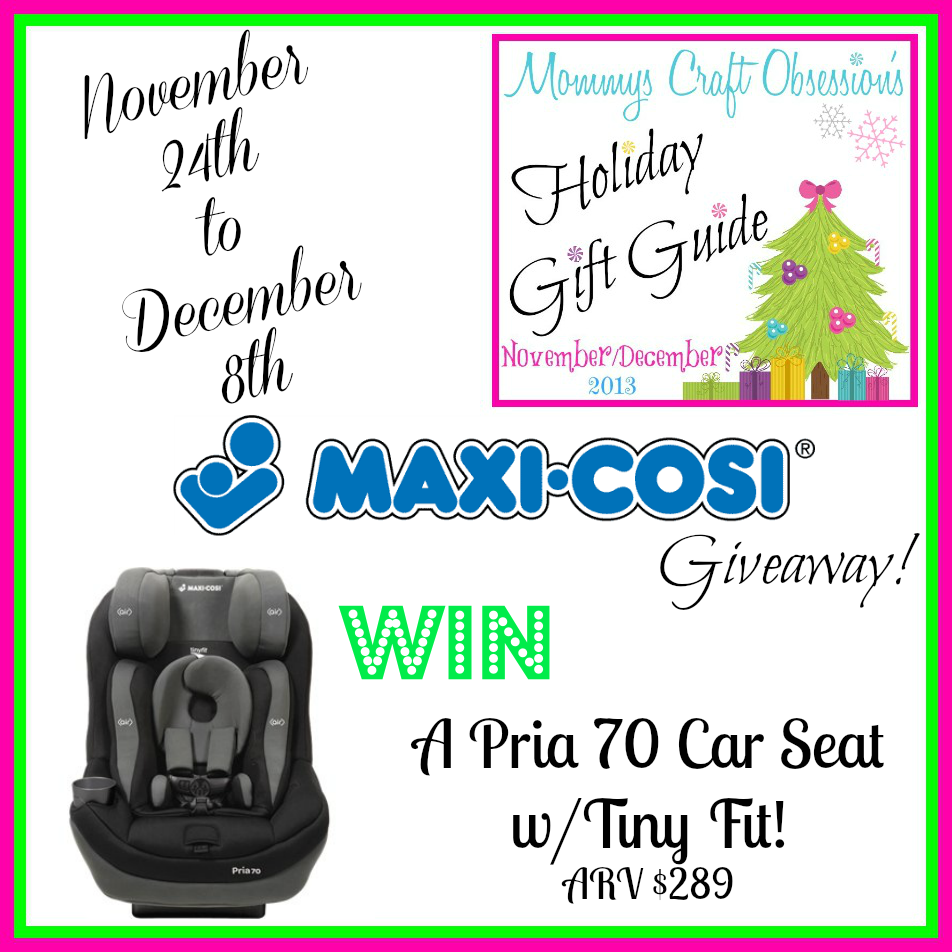 maxi cosi pria car seat giveaway miss frugal mommy. Black Bedroom Furniture Sets. Home Design Ideas