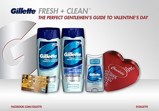 fresh clean giveaway D Winner of the Gillette Valentines Day Giveaway