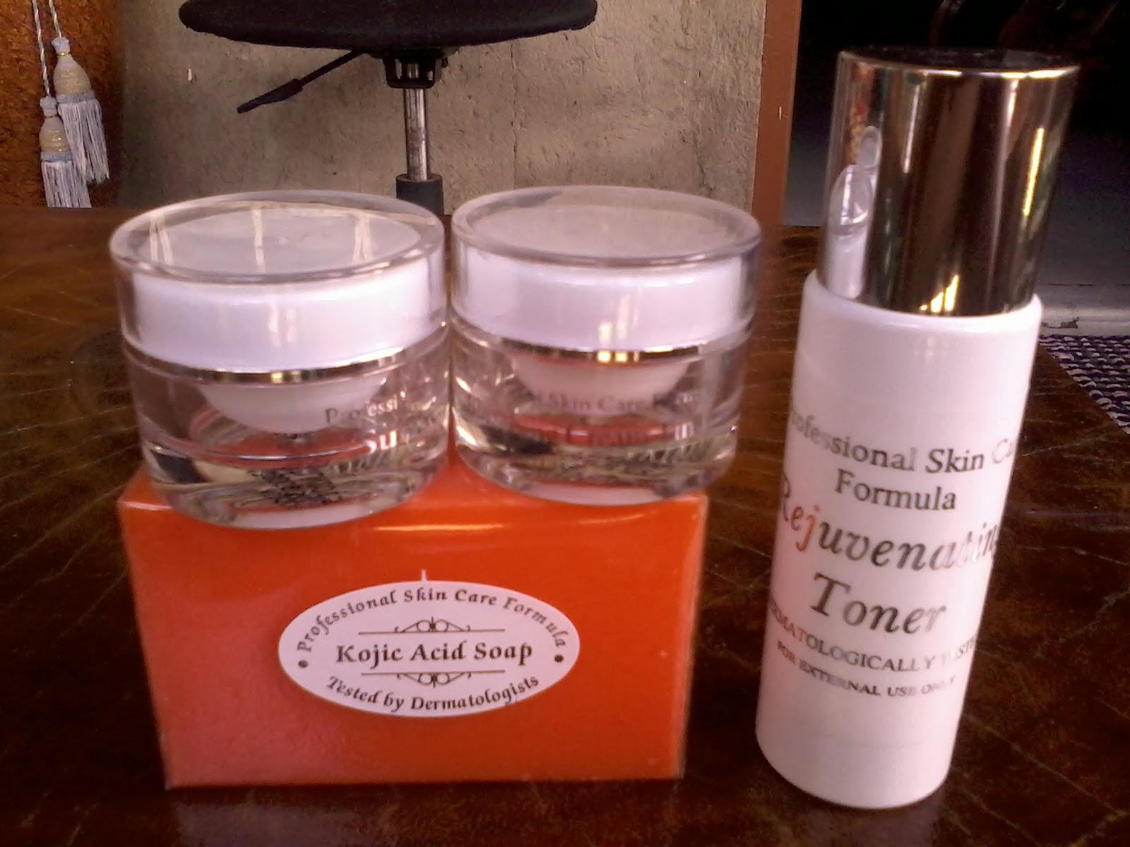 Rejuvenating skin care