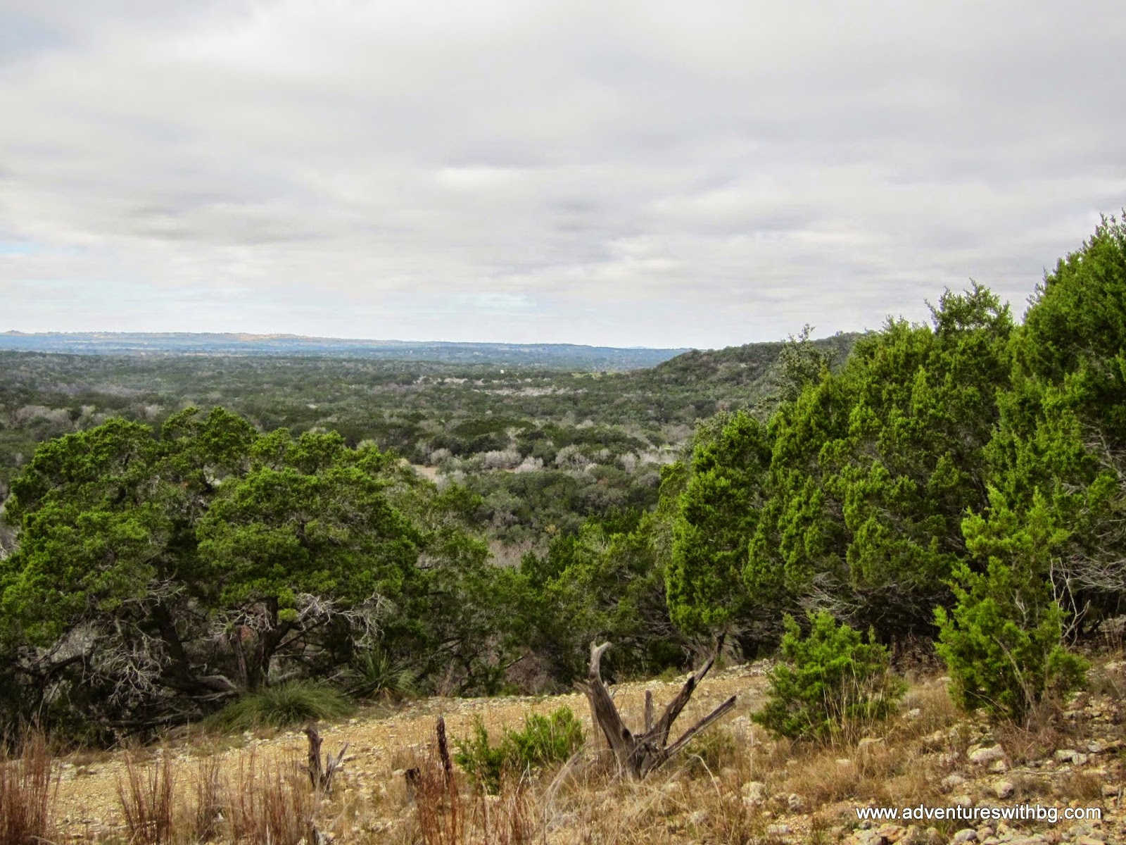 You can see the Texas Hill country and Texas Mountains.