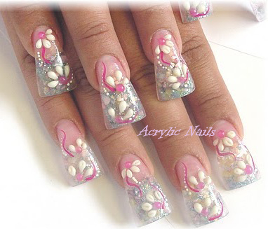 Round Nail Designs http://acrylicnailst.blogspot.com/2011/04/with-stylish-nail-designs-by-acrylic.html