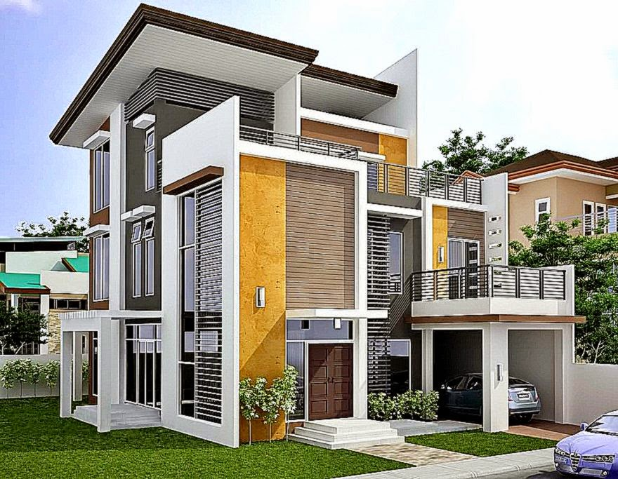 Desain Rumah Type 36 2 Lantai Modern Minimalis 2015   Rumah Type