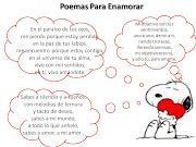 Imagenes con poemas románticos (poemas con snoopy)