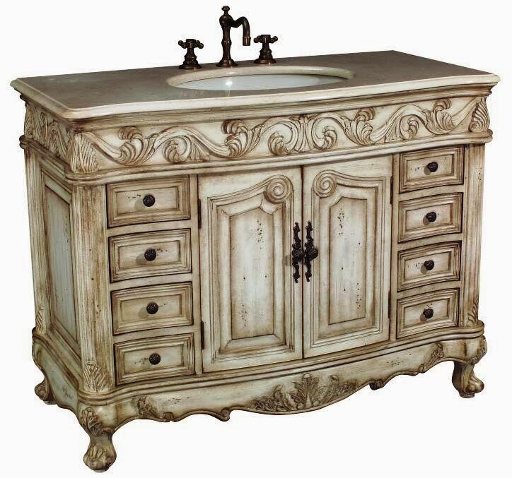 Antique Bathroom Vanities, Unique Bathroom Vanities | Home Decorating ...