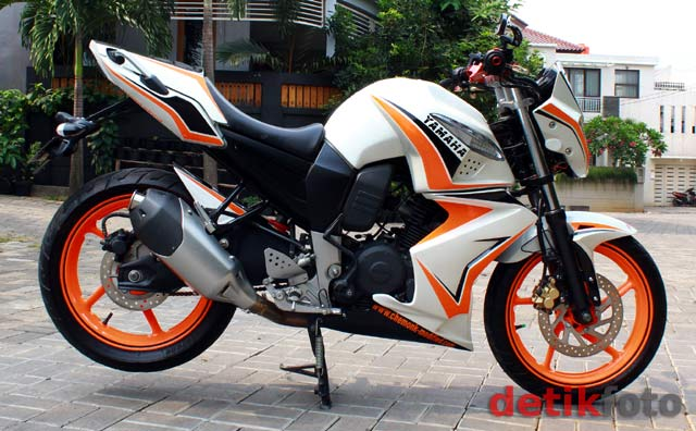 contoh modifikasi yamaha byson street fighter
