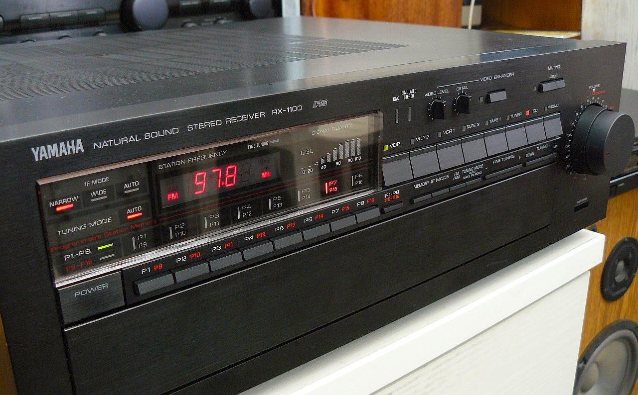 Yamaha rx 1100 stereo receiver audiobaza for Yamaha stereo reciever