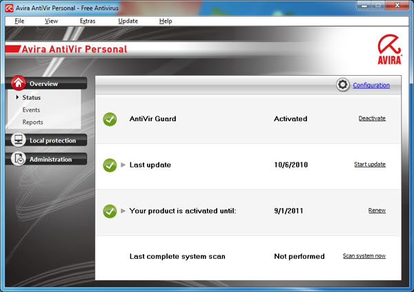 antivirus downloads win xp
