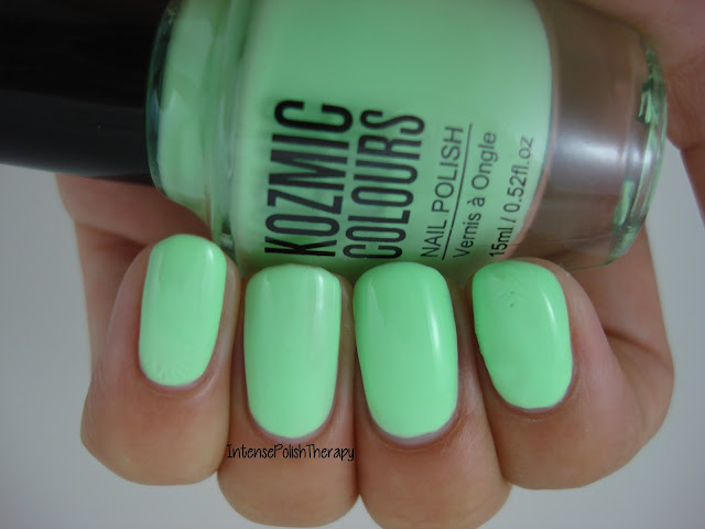 Kozmic Colours - Light Green