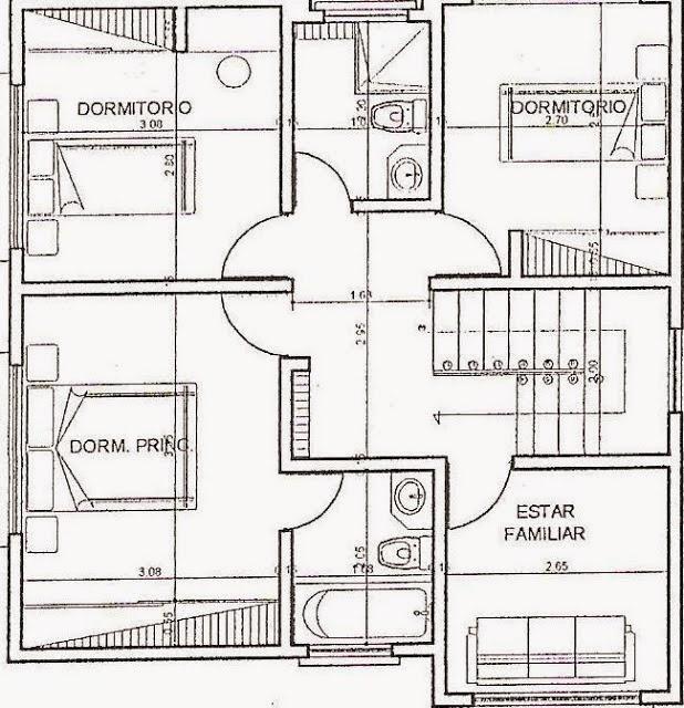 Planos de casas for Hacer planos online facil