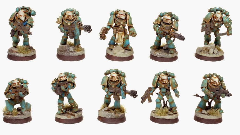 Pre Heresy Alpha Legion Tactical Squad / Tactical Support Squad