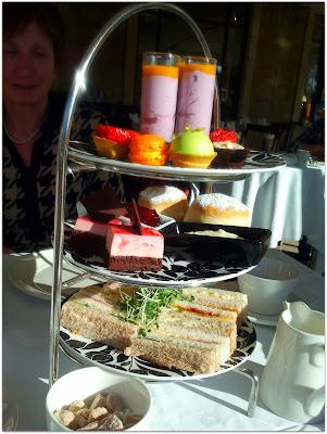 Celtic Manor Afternoon Tea