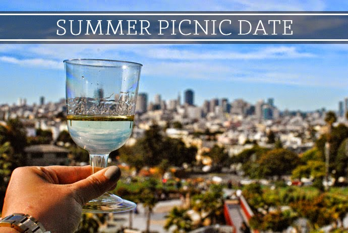 san francisco summer date picnic; sf