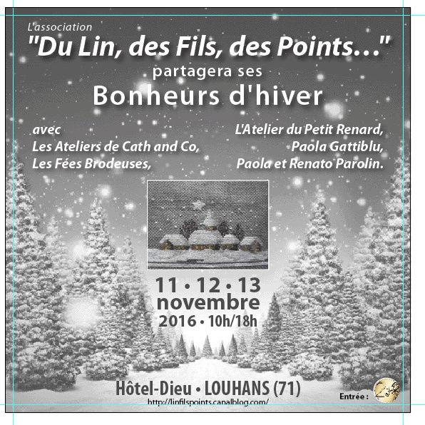 Exposition de Louhans les 11, 12 et 13 novembre