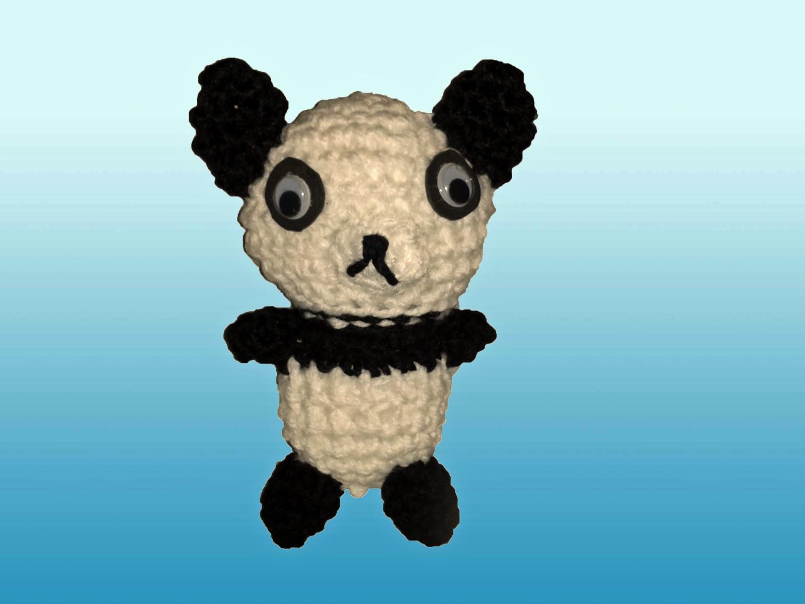 Amigurumi De Panda : Patron De Oso Panda Amigurumi apexwallpapers.com
