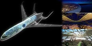 Pesawat Transparan Pertama di Dunia