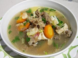 Sup daging asli purwodadi