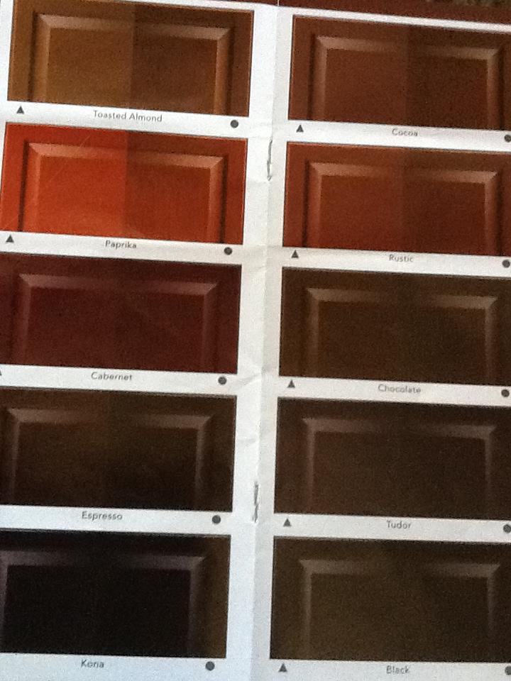 Espresso Colored Kitchen Cabinets