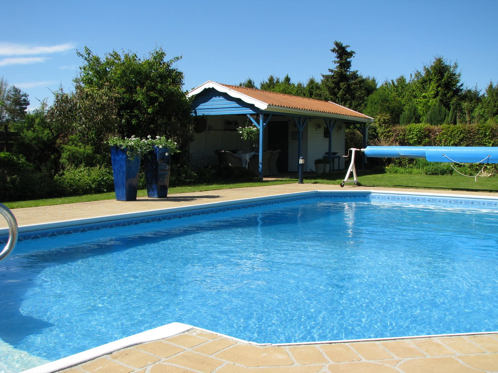 Leven leven met de tuin for Zwembad plaatsen in tuin