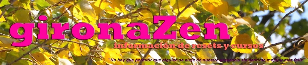 Girona Zen información de resets y cursos