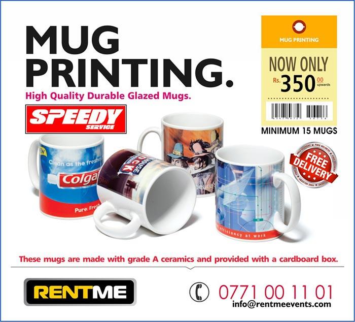 High Quality Personalized MUG Printing | Rs. 300/= upwards.