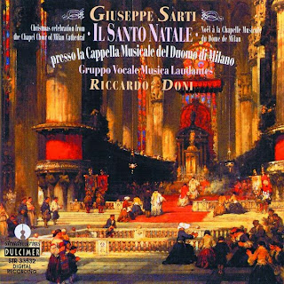 Giuseppe Sarti: Il santo natale, presso la Cappella musicale del Duomo di Milano