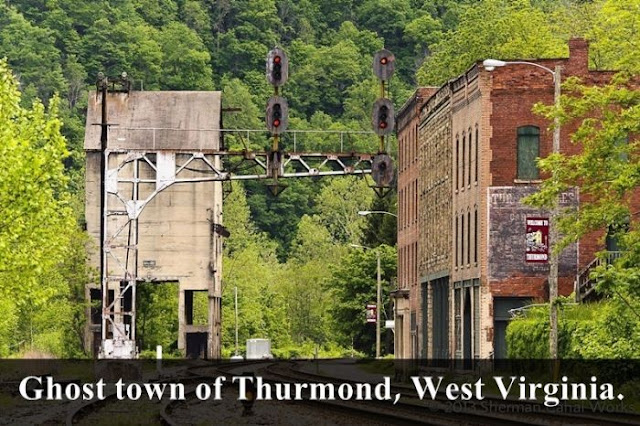 ghost twon of thurmond, wesr virginia