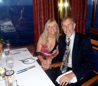 Pat & Wayne at Elegant Dinners - Holland America Cruise