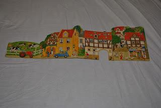Spielzeug Dorf, carte second-hand