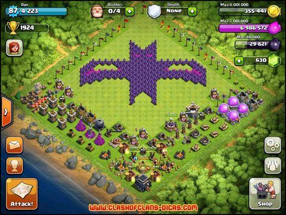 layouts mais criativos e bizarros em Clash of Clans [Parte 02] - Clash