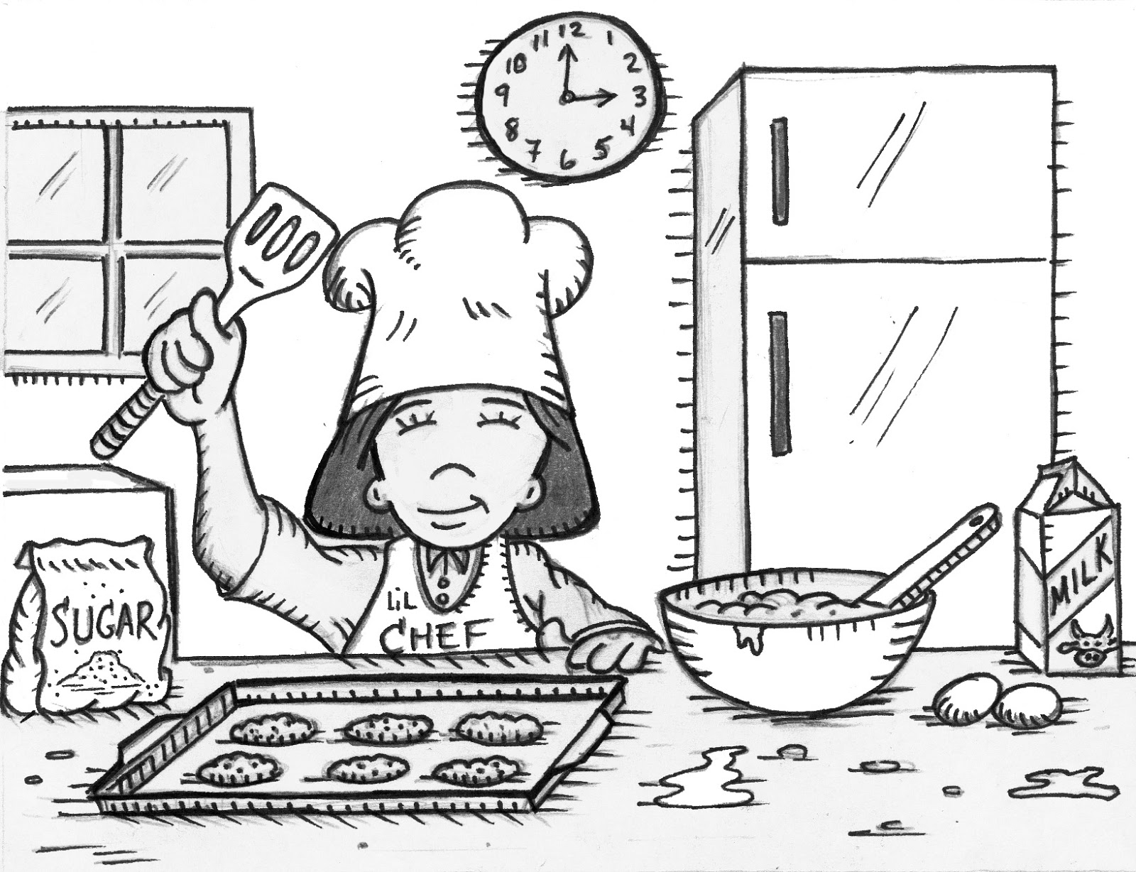 Grandparents Teach, Too: Easy Math Recipes for Kids