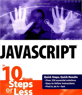 Javascript in 10 simple steps of less Cover