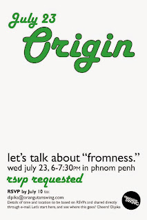 Poster of Origin: Talking about 'Fromness' in Phnom Penh, Cambodia