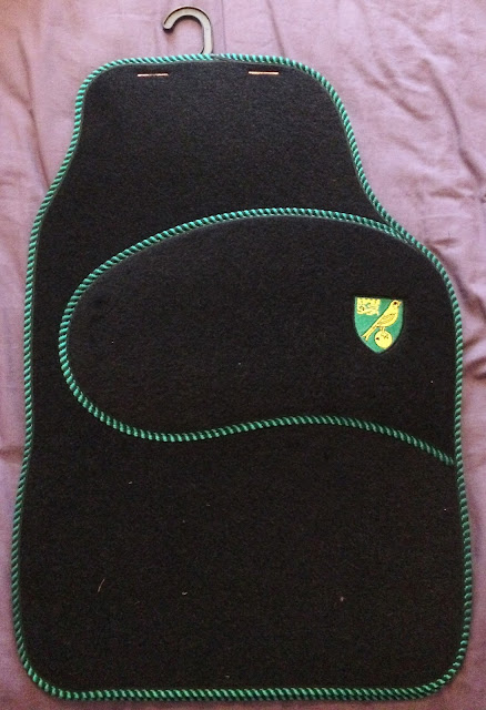Norwich City car mats