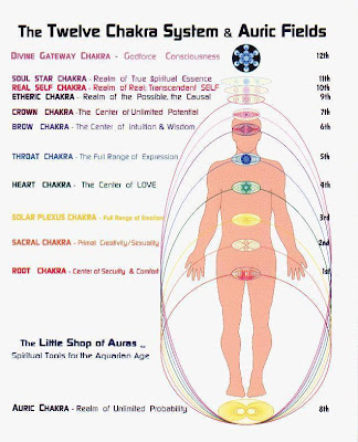 Your Aura & 12 Chakras: Keys to the Kingdom 13