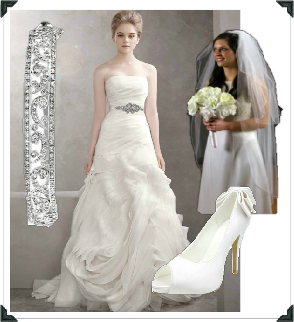 Chelsea Clinton Wedding Gown: If I Was A Stylist: Chelsea Clinton Bridal Look For Less