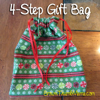 Getting crafty: sew a gift bag in 4 steps