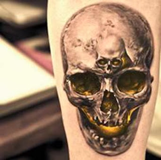 Desenhos de caveira para tatuagens