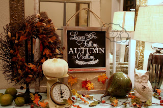 vinyl decals, entry decor, fall