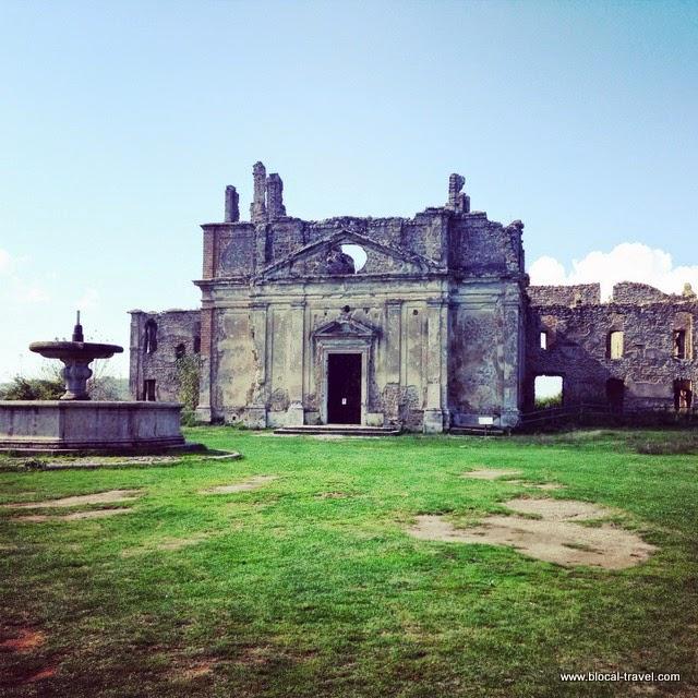 Monterano ghost village, Lazio, Italy