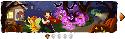 halloween google facebook