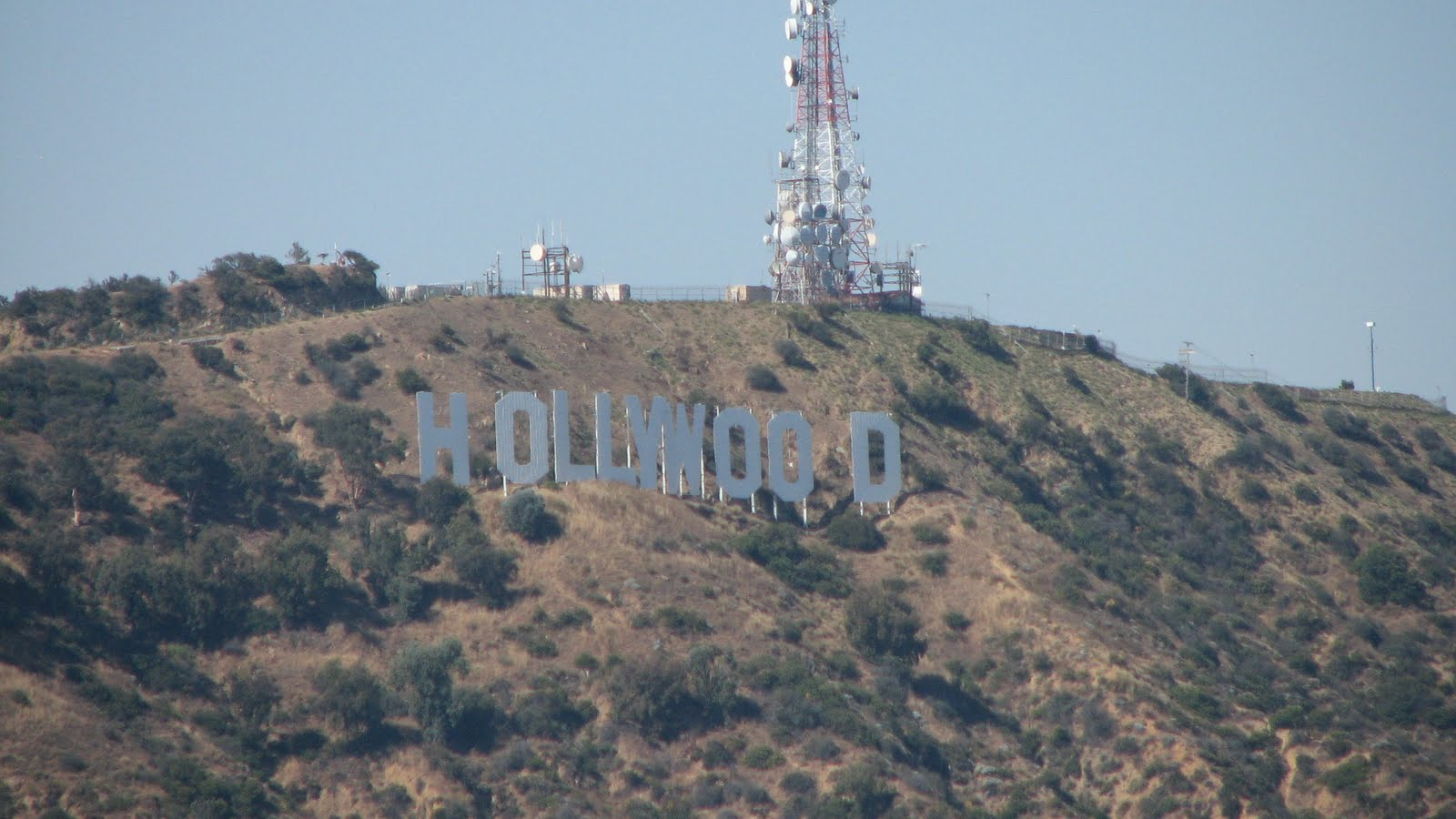 This Is Not The Original Hollywood Sign It Was Replaced 3 Years Ago Now Larger Than Before And Lights Up At Night