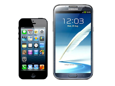 Galaxy Note 2 vs iPhone 5 Review