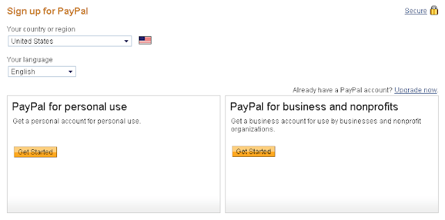 how to create paypal account for ebay
